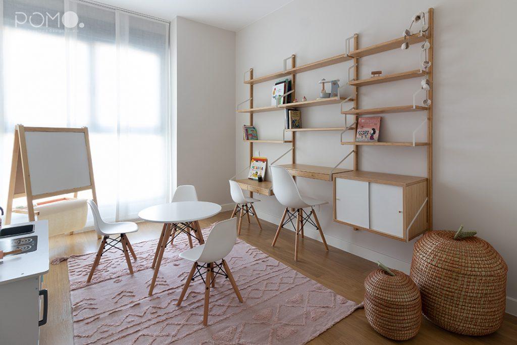 POMO. Home Staging & Design Studio. Habitación juegos & Estudio. Proyecto Zuazo - Madrid